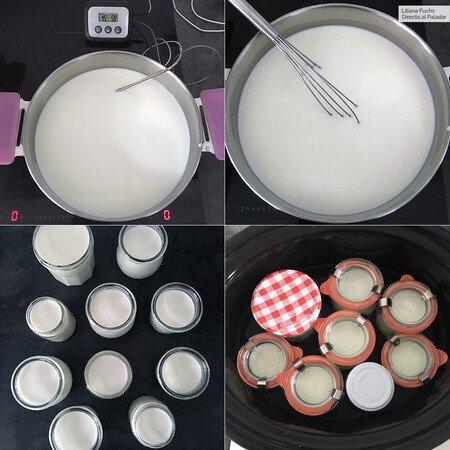 proceso de elaboración del yogur
